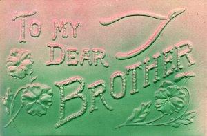 To My Dear Brothr Flowers BIN