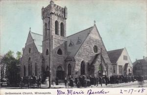 MINNEAPOLIS, Minnesota, 1900-1910´s; Gethsemane Church