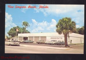 NEW SMYRNA BEACH FLORIDA U.S. POST OFFICE 1960's CARS