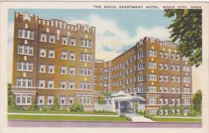 Iowa Sioux City The Sioux City Apartment Hotel
