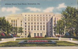Alabama Birmingham Jefferson County Court House 1943
