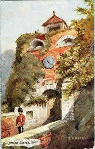 Vintage Tuck's Postcard Upnor Castle Oilette England Unposted