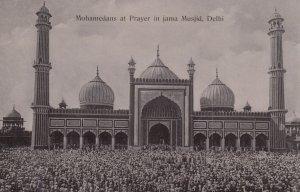 Mohamedans at Prayer in jama Musjid , DELHI ,India , 00-10s