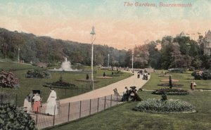Bournemouth , England , 1900-10s ; The Gardens