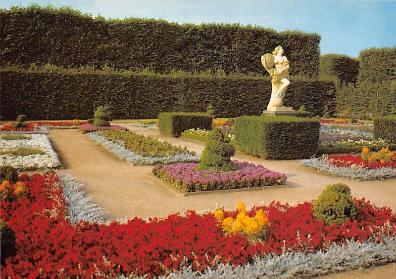 Hannover Grosser Garten Herrenhausen Garden Flowers Statue Hippostcard