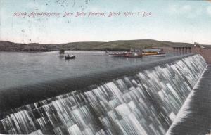 BLACK HILLS, South Dakota, PU-1916; 50,000 Acre Irregation Dam Belle Fourche