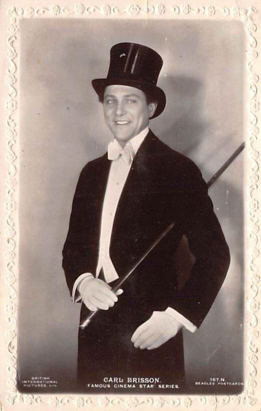 Carl Brisson Famous Cinema Star series Theater Unused