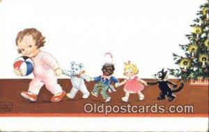 Artist Wills Felix the Cat Postcard Post Card Unused