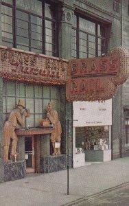 DETROIT, Michigan, 1950-1960s; The Brass Rail