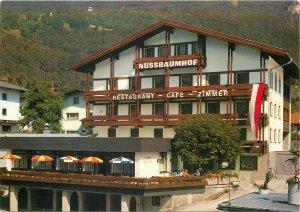 Postcard Tirol Landeck Gasthof Cafe Restaurant Nussbaumhof