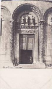 RP; Porta principale, Battistero, PISA, Toscana, Italy, 10-20s