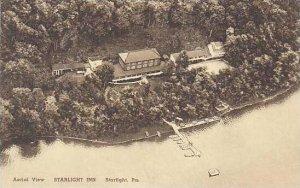 Pennsylvania Starlight Aerial View Of The Starlight Inn Albertype
