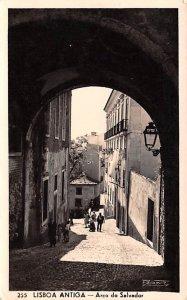 Arco do Salvador Lisboa Antiga 1956