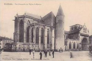 France Epinal Vue d'ensemble de l Eglise St Maurice