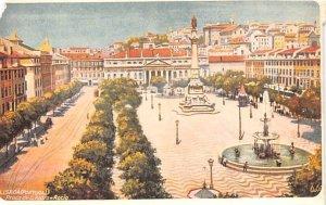 Praca de D Pedro Rocio Lisboa Unused