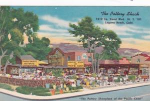 California Laguna Beach The Pottery Shack 1953
