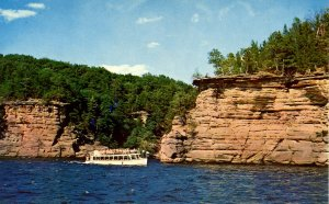 WI - The Dells. Sunset Cliffs
