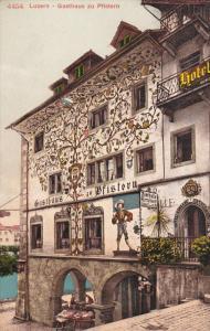 LUZERN, Switzerland, 1900-1910's; Gasthaus Zu Pfistern