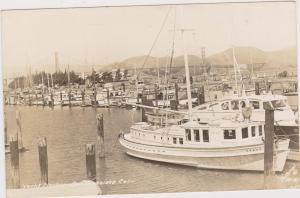 RP: SAN FRANCISCO, California, 1930-40s , Yacht Harbor