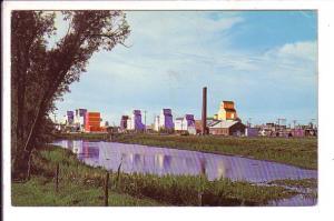 Grain Silos, Weyburn, Saskatchewan, Used 1970