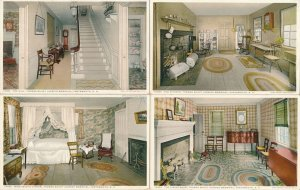 (7 cards) Portsmouth NH, New Hampshire - Thomas Bailey Aldrich Memorial - DB
