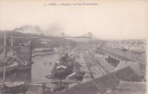 BREST, L'Arsenal , Le Pont Transbordeur, Finistere, France, 00-10s