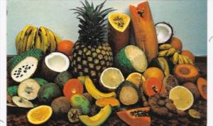 Puerto Rico San Juan Variety Of Local Fruits