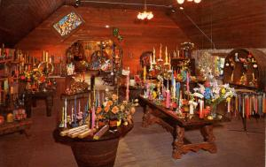 CA - St Helens. Hurd Beeswax Candles, Interior