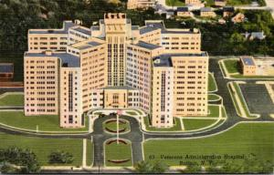 New York Buffalo Veterans Administration Hospital 1950 Curteich