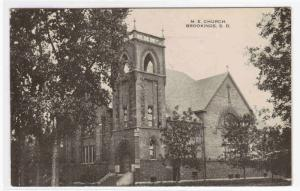 ME Church Brookings South Dakota 1916 postcard