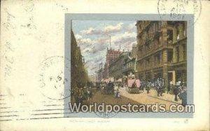 Buchanan Street Glasgow Scotland, Escocia 1901
