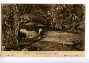 126990 Ophelia by JOHN MILLAIS vintage PC