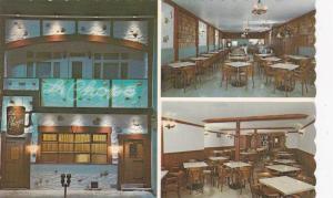 Exterior Night View, Interior Dining Room, La Chope Fine Restaurant, Quebec L...