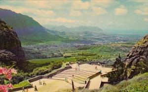 Hawaii Oahu Nuuanu Pali Lookout