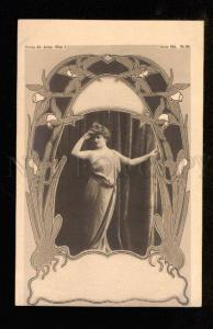 048130 BELLE Opera Ballet Star old PHOTO Art Nouveau