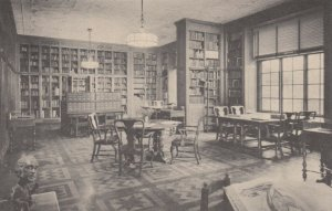 NEW YORK CITY, New York, 1900-10s; Rare Book Room, Academy of Medicine