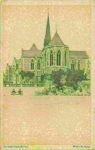 Harrow The School Chapel Postcard