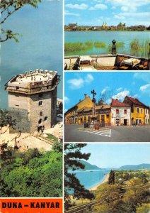 B110684 Hungary Duna Kanyar Donauknie Bend of the Danube Lake Cross