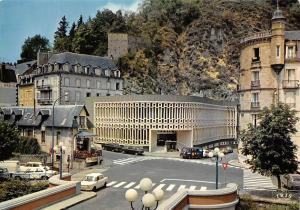 France La Bourboule Station thermale et Touristique Facade des Thermes Choussy