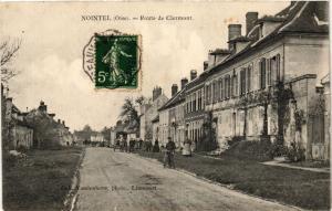 CPA NOINTEL - Route de CLERMONT (259555)