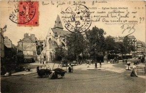 CPA Paris 5e-Eglise Saint Médard (324218)