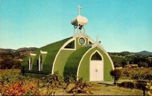 California Asti Italian Swiss Colony Vineyards Famous El Carmelo Chapel