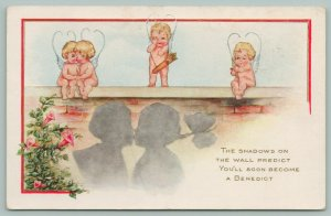 Valentine~Shadows On Wall~Predict A Benedict~Bachelor To Marry~Cupids~Whitney
