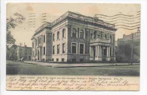 Public Library, Western Pennsylvania, Erie, Pennsylvania, PU-1906