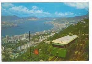 Peak Tram (Green),   Hong Kong, China, 50-70s