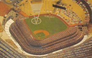 California Angel's Baseball Stadium Postcard Post Card California Angel&...