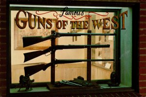 Oklahoma Oklahoma City National Cowboy Hall Of Fame Famous Guns Of The West D...
