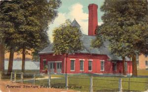 East Palestine Ohio Pumping Station Exterior View Antique Postcard J80190