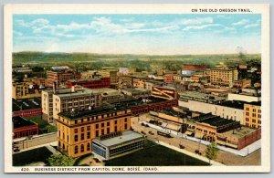 Boise ID~Allen-Wright & Standard Furniture Cos~Trolley by Downtown Shops~1920s
