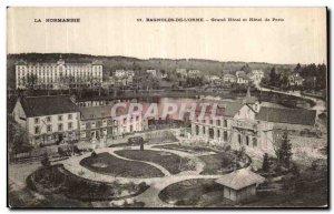 Old Postcard Bagnoles De L Orne Hotel and Hotel de Paris